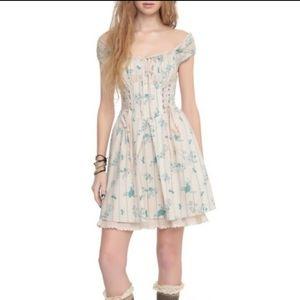 Disney Cinderella Hot Topic Peasant Corset Dress